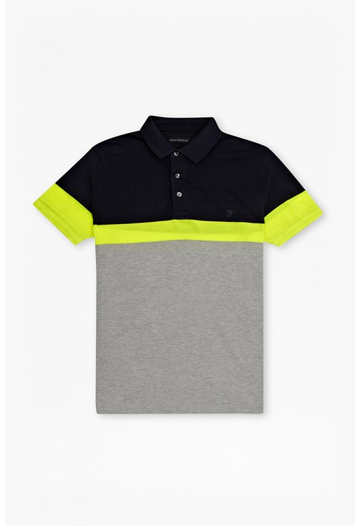 Block Sport Polo Shirt