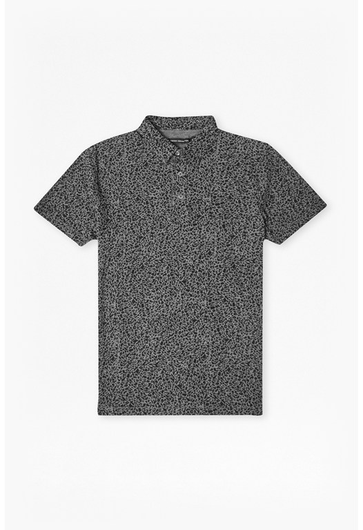 Leopard Rocks Polo T-Shirt