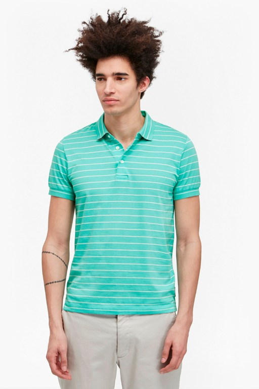 Complete the Look Trailer Stripe Polo Shirt