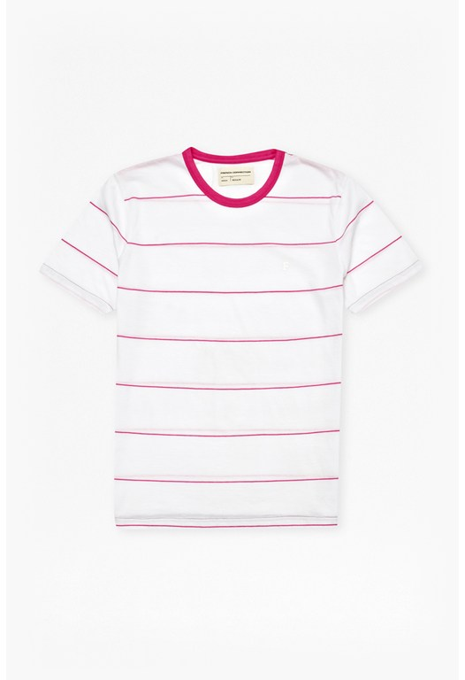 Iteso Peached Stripe T-Shirt