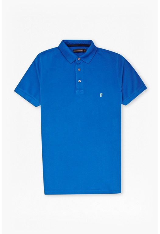 Simple Garment Dye Polo Shirt