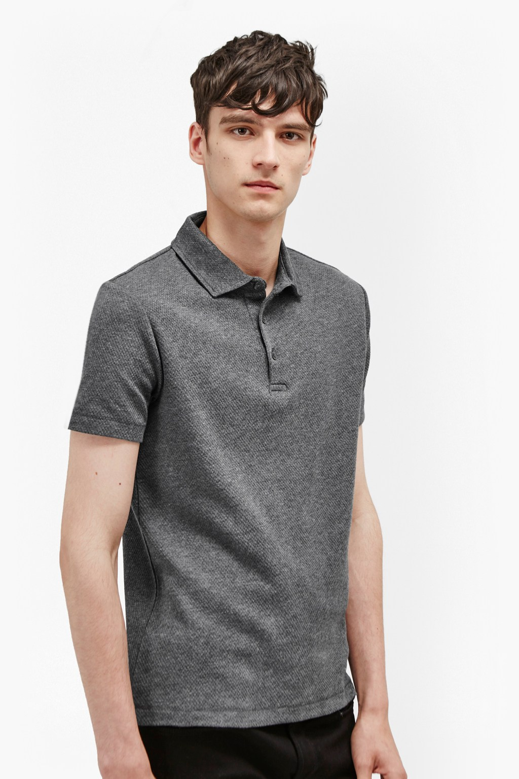 Central Crepe Polo Shirt Mens Sale French Connection Usa