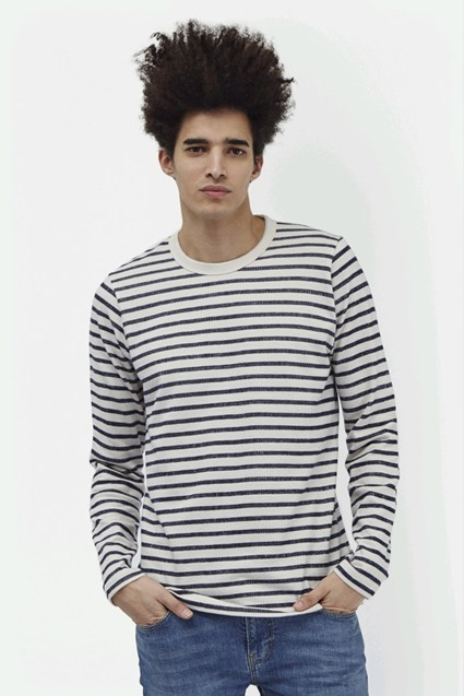Stripe Out Long Sleeved T-Shirt