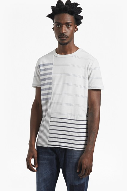Mara Patchwork Striped T-Shirt