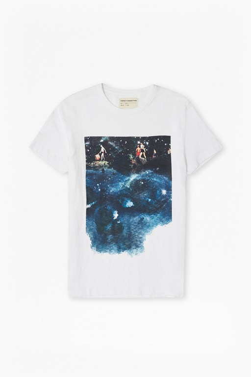 dead calm graphic print t-shirt