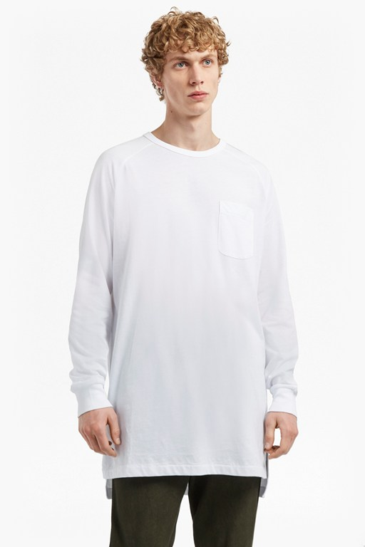Complete the Look Peached Longline Jersey Sweatshirt