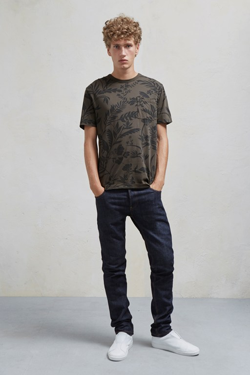 Complete the Look Overdyed Fumio Floral Jersey T Shirt