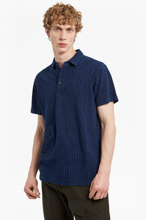 Complete the Look Dojo Dot Printed Short Sleeved Top