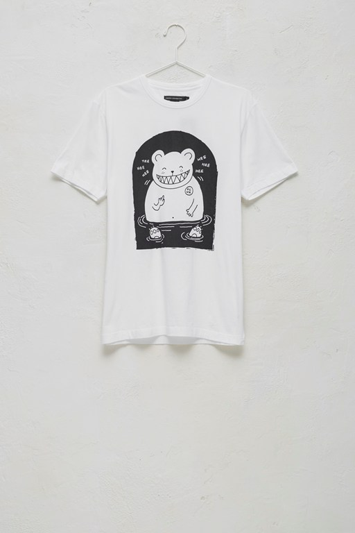 bear in water t-shirt