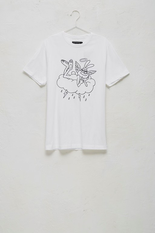 bunny angel t-shirt