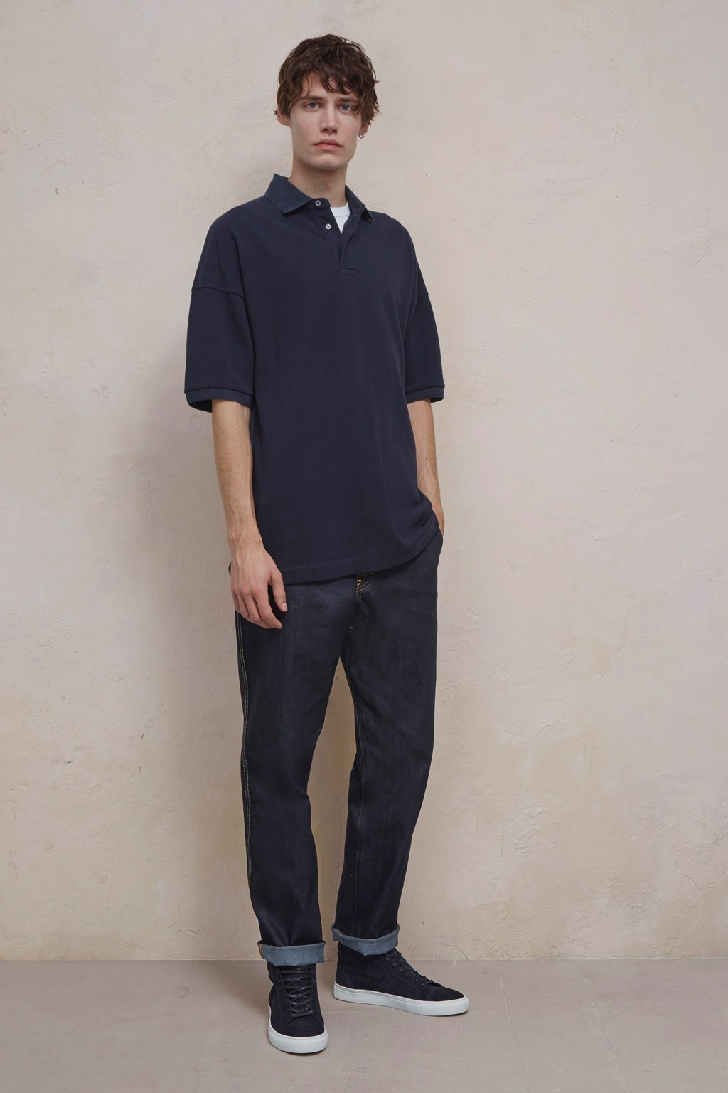 Oversized Polo Shirt Mens Sale French Connection Usa