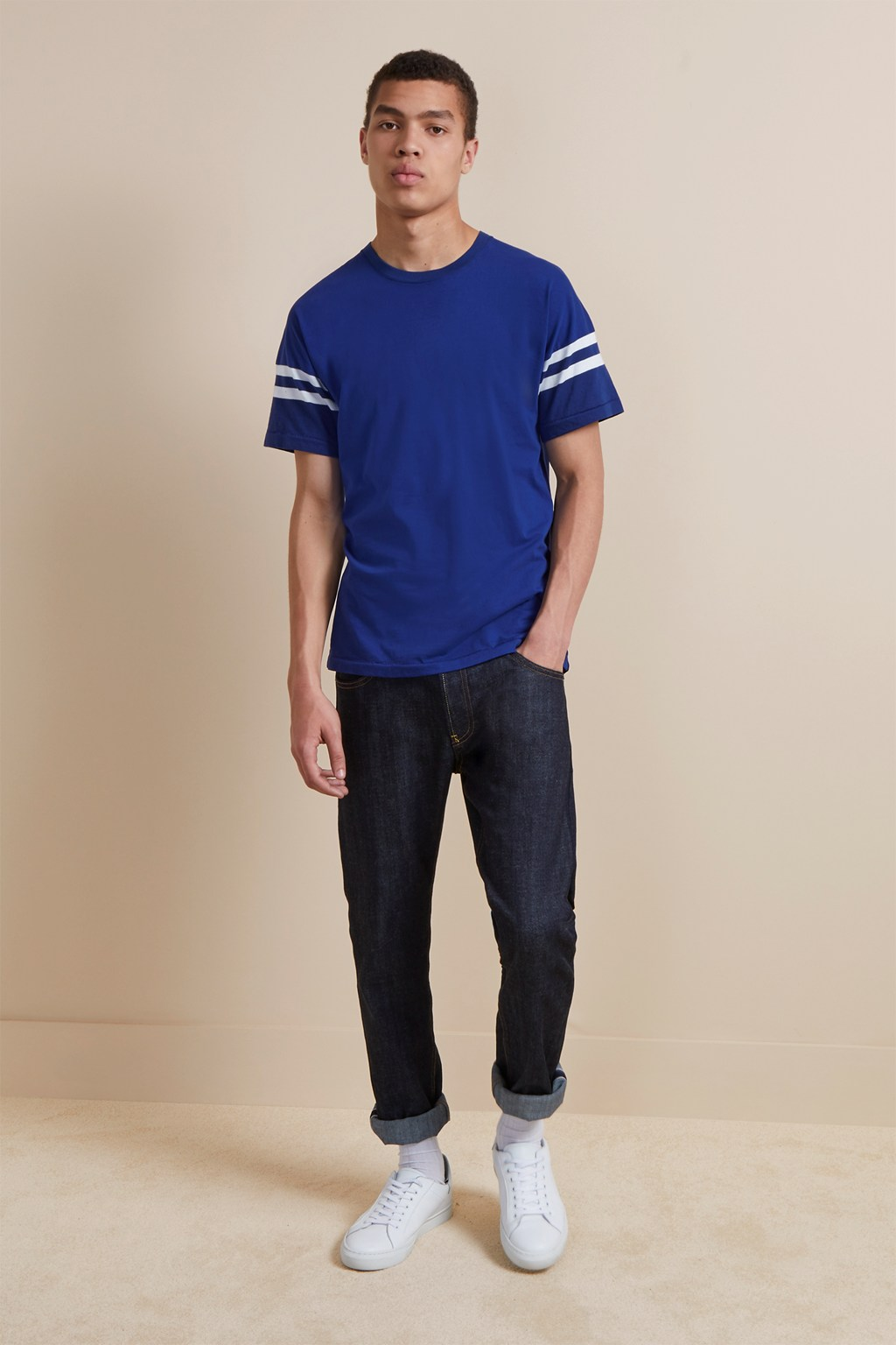 24'S Tipping Stripe T-Shirt