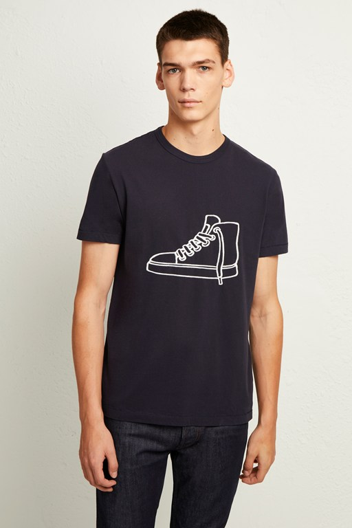 sneaker graphic t-shirt