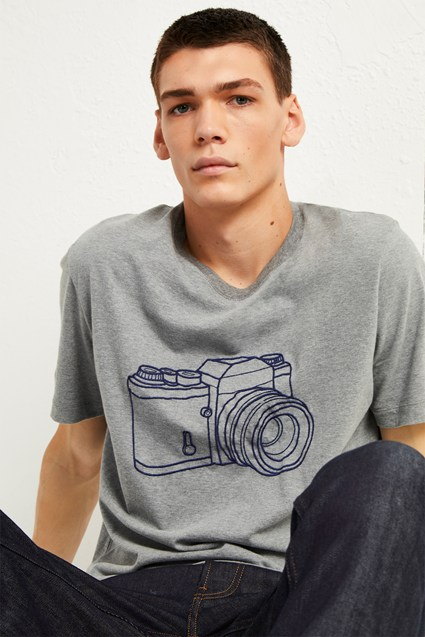 Camera Graphic T-Shirt