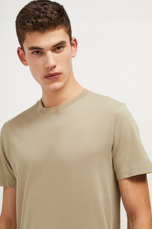 classic cotton crew neck t-shirt