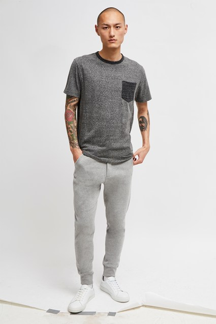 Triblend Jersey Crew Neck T-Shirt