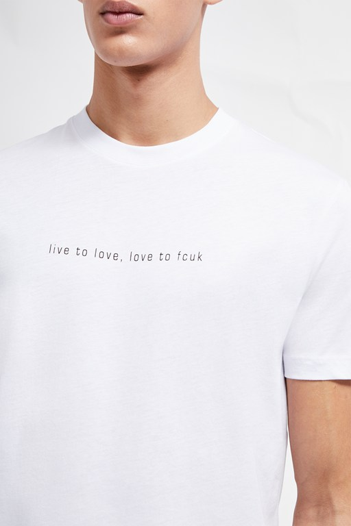8ce97c32d55 Graphic Tees | Men's Slogan T-Shirts | French Connection USA