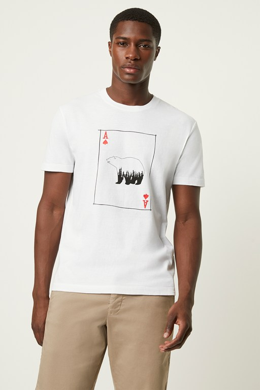 playing card bear t-shirt