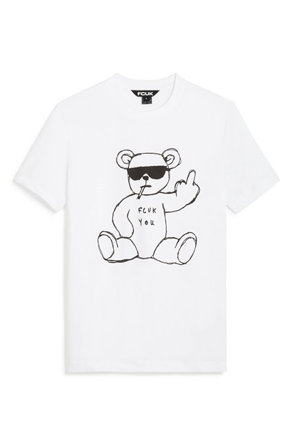 FCUK RUDE BEAR T-SHIRT