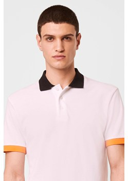 Block Pique Polo Top