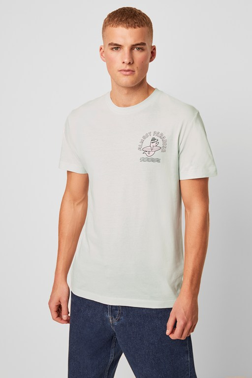surfing shark t-shirt