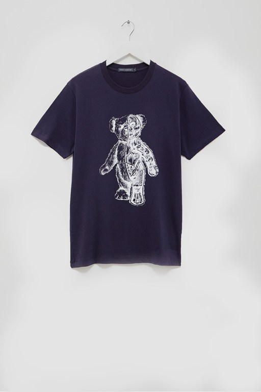 teddy bear skeleton t-shirt