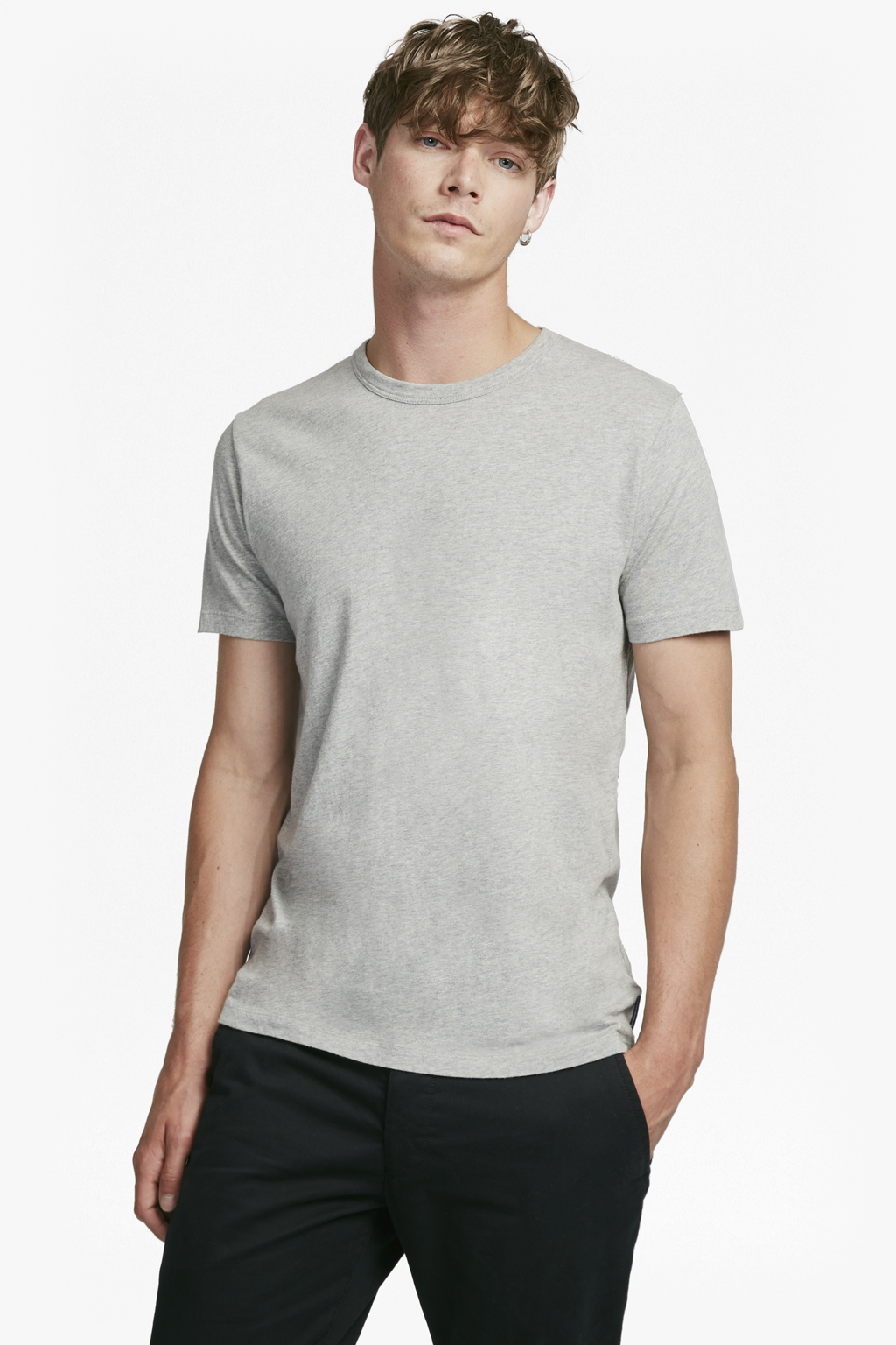 French Connection Mens Short Sleeve Crew Neck Regular Fit Graphic T-Shirt