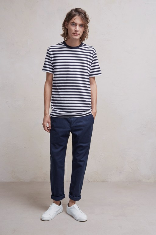 nautical stripe jersey t-shirt
