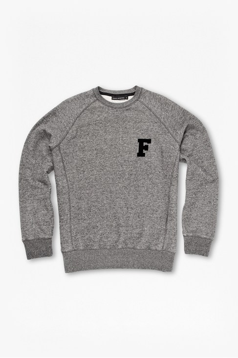 Tweed Sweat Raglan Jumper