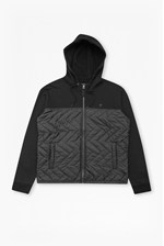 Looks Great With Quilted Zip Thru Hoody