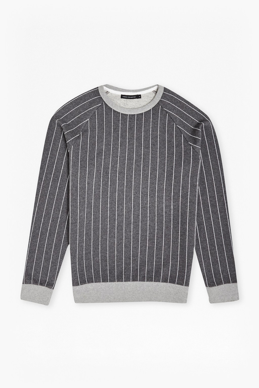 Pin Stripe Raglan Sweatshirt