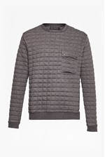 Looks Great With Joystick Quilted Sweatshirt