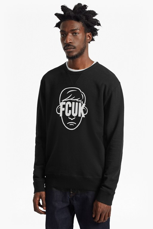 FCUK Face Sweatshirt