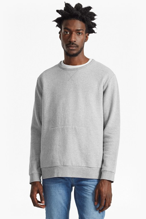 Complete the Look Wasim Side Zipped Sweatshirt