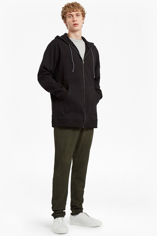 Complete the Look Ashcroft Longline Hooded Sweatshirt