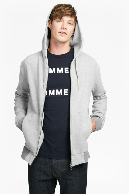 Complete the Look Multi Melange Hoody Sweatshirt