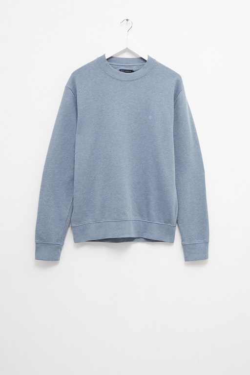 loopback crew neck sweatshirt