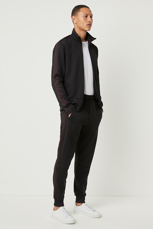 Complete the Look Vintage Track Sweat Zip Up Jacket