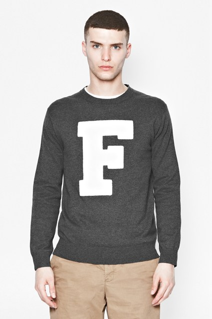 SS14 'F' It Knit