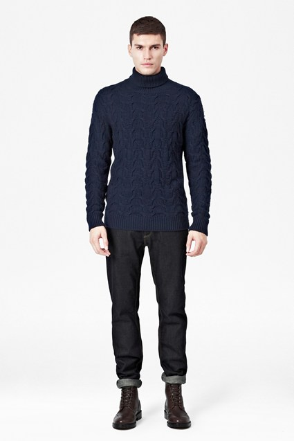 Yule Wool Cable Jumper
