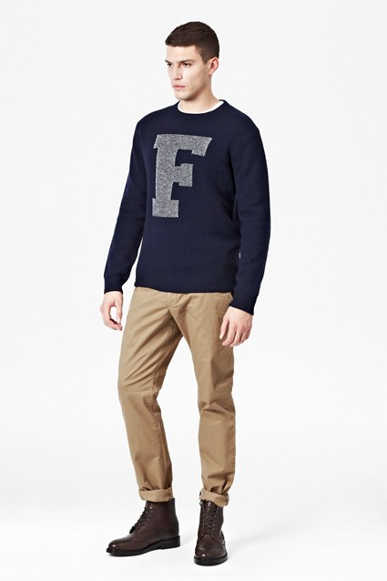 F It Lambswool Jumper