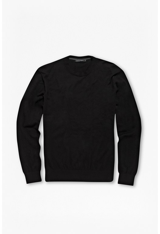 Portrait Plain Wool-Blend Jumper