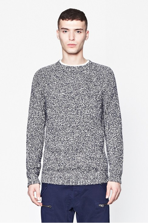 Binder Twist Salt And Pepper Jumper