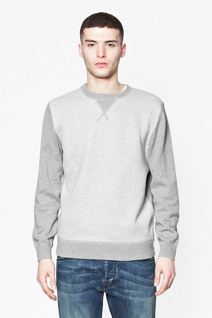 Mixed Cotton Sweater