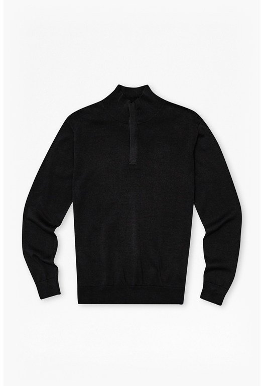 Quarter Zip Knit