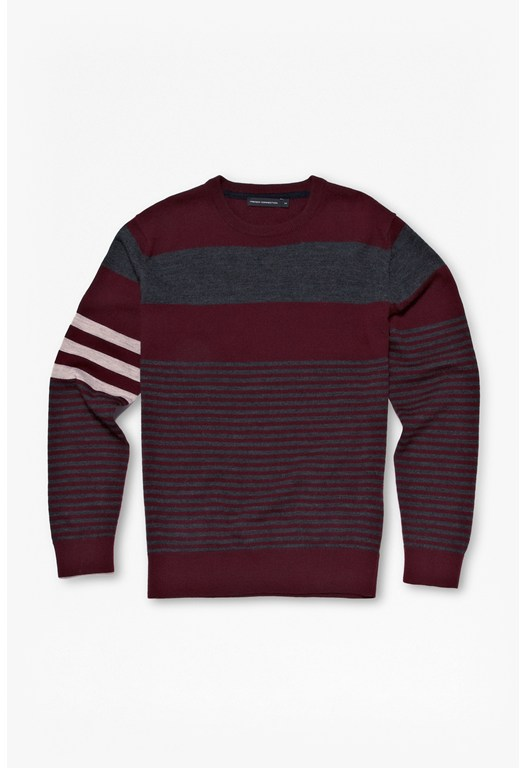 Freighter Merino Striped Jumper