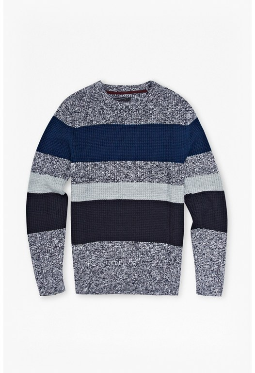 Indigo Seed Knitted Jumper