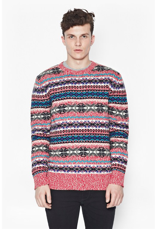 Twisted Wool Jumper