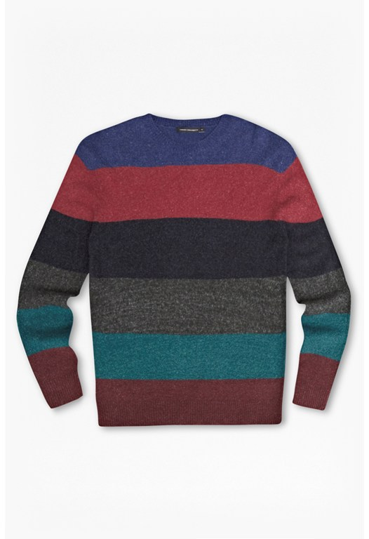 Feltet Striped Knit