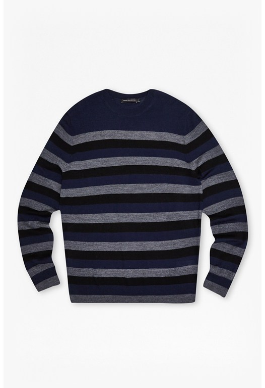 Merino Wool Stripe Jumper